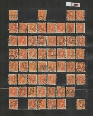3379 Luxembourg - Marie-Adelaide selection of USED/MNH stamps 40 Cents