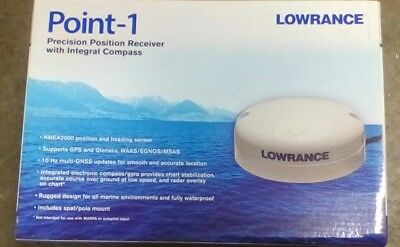 Lowrance Point-1 Precision Position Receiver With Integral Compass 000-11047-001