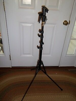 """Manfrotto 5001B===Nano Black Stand===74""""===Used Once"""