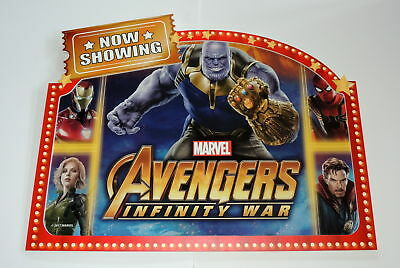 Marvel INFINITY WAR Double Sided Toy's R US Exclusive Store Display 50 Exist!