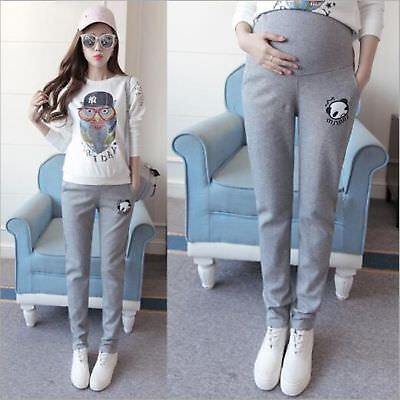 Casual woman Maternity Pants for Pregnant Women Trousers Sports Clothes