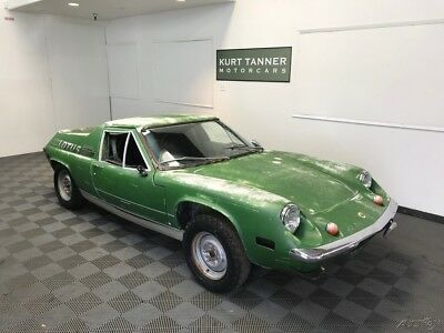 Lotus Europa TWIN CAM SPECIAL 5-SPEED 1974 LOTUS EUROPA TWIN CAM SPECIAL. 5-SPEED. PROJECT CAR NEEDING RESTORATION.