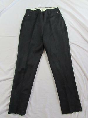 Vtg 40s 50s Womens H Bar C Gabardine Wool Western Pants 28x29.5 Rockabilly Nice!
