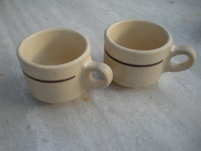 coffee cup cafe pottery collectible restaurant vintage country kitchen diner usa
