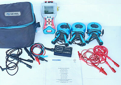 Metrel MI 2392 Power Quality Analyzer analyser 3Ph three phase *Calibrated*
