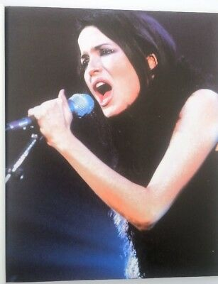 The CORRS 'hand on mic' magazine PHOTO/Poster/clipping 11x8 inches