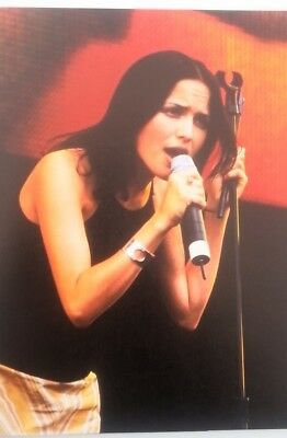 The CORRS 'mic & stand' magazine PHOTO/Poster/clipping 11x8 inches