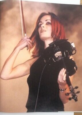 The CORRS 'red hair' magazine PHOTO/Poster/clipping 11x8 inches
