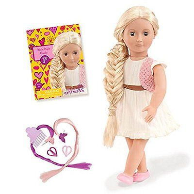 Our Generation 18- inch Phoebe Hairgrow Doll (From Hair to There)