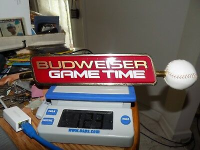Budweiser Game Time Beer Tap Baseball Theme See Pic