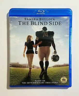 The Blind Side (2009) Like New Blu-ray + DVD Sandra Bullock, Quinton Aaron