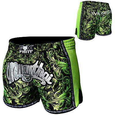 FOX-FIGHT Warrior MMA Fight Hosen Short Muay Thai Kickboxen UFC Kampfsport Boxen
