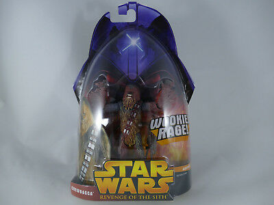 Star Wars Revenge Of The Sith Chewbacca Wookiee Rage Rots Moc