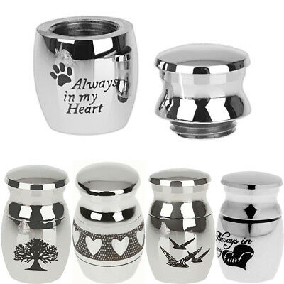 KQ_ Mini Urn for Ashes Cremation Memorial Small Dog Keepsake Ash Container Jar C