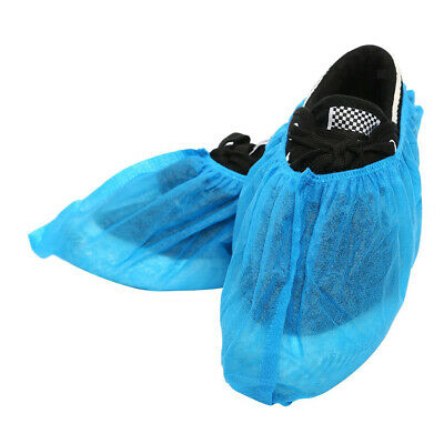 100 PCS Disposable Shoe Covers, Overshoes, Boot Cover, Non-skid, Non-woven