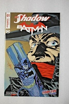 The Shadow Batman #1 New York Comic Con Exclusive Variant Cover DC
