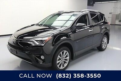 Toyota RAV4 Limited 4dr SUV Texas Direct Auto 2017 Limited 4dr SUV Used 2.5L I4 16V Automatic FWD SUV