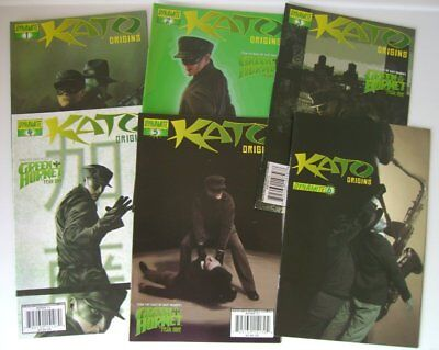 Kato Origins Lot 6 Comics 1/6 Dynamite 2010 Nitz Worley