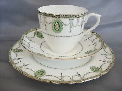 Lovely Vintage (1908) Tea Set Trio by Royal Doulton in the 'Countess' Pattern