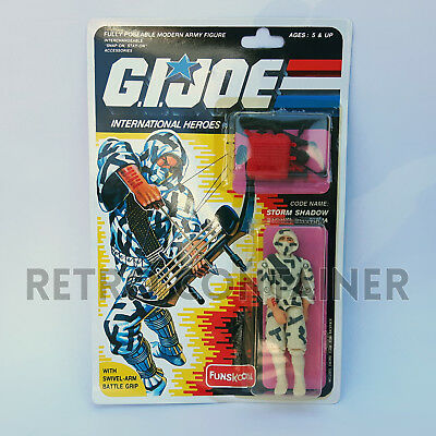 G.I. JOE GI JOE - STORM SHADOW - MISB MOC (Russian Funskool) New in Sealed Box