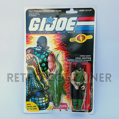 G.I. JOE GI JOE - CROC MASTER - MISB MOC (Russian Funskool) New in Sealed Box