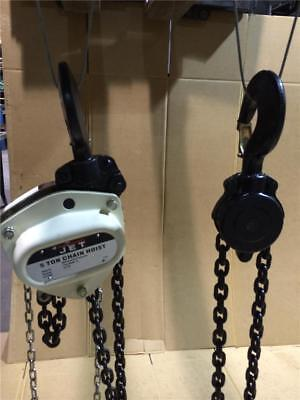 5 TON JET Chain Fall Hoist 10ft Lift L100-500WO-10 107100 Overload Protection