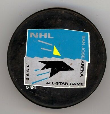 1995 Nhl All Star Game San Jose Sharks Trench Official Licensed Product Mfg