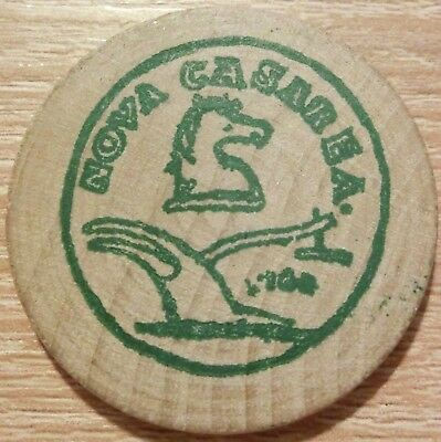 Wooden Nickel zur Expo Ctr South Jersey  1995  (2)