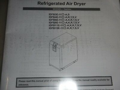 SMC COMMERCIAL REFRIGERATED AIR DRYER 1dfb3e-11n (SKID76)