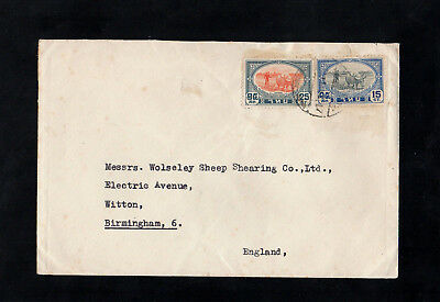 Thailand - 1941 - Postal History Cover To England - With Cds Postmark