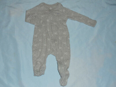 Baby Gap Baby Boys Size 6-9M  Zip Up Footed Sleeper