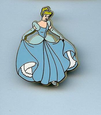 Disney Japan Princess Cinderella In Blue Ball Gown Pin