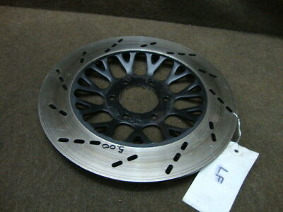 81 Suzuki Gs650 Gs 650 G Gs650G Rotor, Front Left Brake Disc #x31