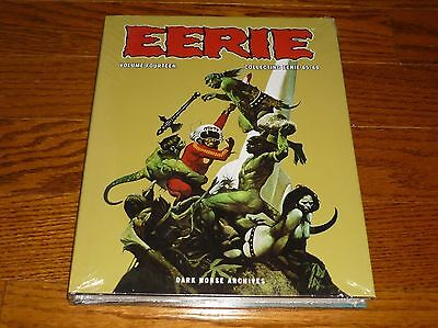 Eerie Archives Volume 14, SEALED, Warren, Dark Horse, hardcover, Berni Wrightson