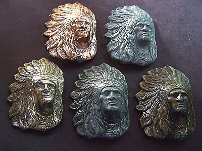 Group Of Five Different Chief Sitting Bull Commemorative Medallions