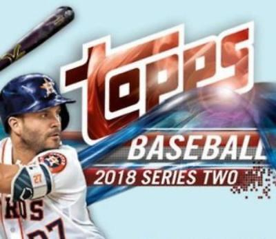 2018 Topps Baseball Series 2 Base Cards Pick From List Includes Rookies 351-600
