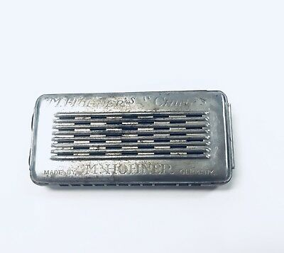 """Vintage M. Hohner's """"Chimes"""" Hohner Harmonica Made in Germany 1920s 1930s"""
