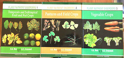 PLANT NUTRIENT DISORDERS (RARE)  - Books 1, 3 & 4 - R.G.Weir & G.C.Cresswell