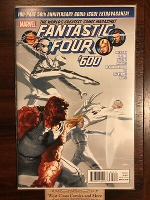 Fantastic Four #600 Epting Variant White Suit Cover Marvel Comics FF Fox Nm Htf