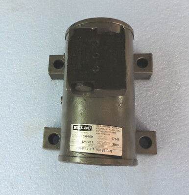 Helac Helical Hydraulic Rotary Actuator Model L20.8.2-E-FT-180-S1-C-H