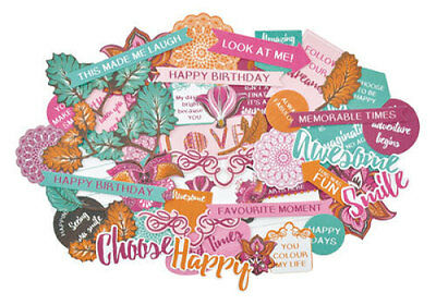 *A&B* KAISERCRAFT Scrapbooking Collectables Bombay Sunset CT882