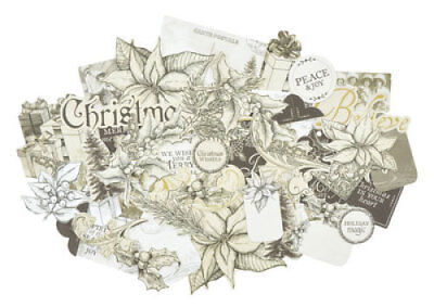 *A&B* KAISERCRAFT Scrapbooking Collectables - Christmas Edition - CT889