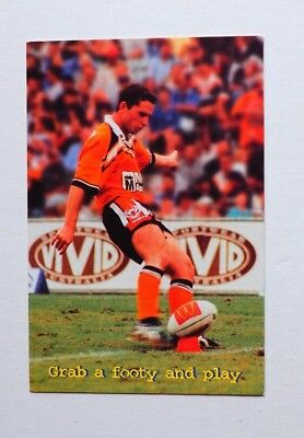 The 2001 Season Is Here Joel Caine Grab A Footy And Play  Post Card