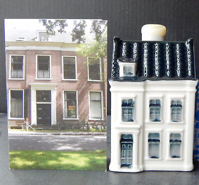 KLM Blue Delft Miniature House Number 98 (See Description)