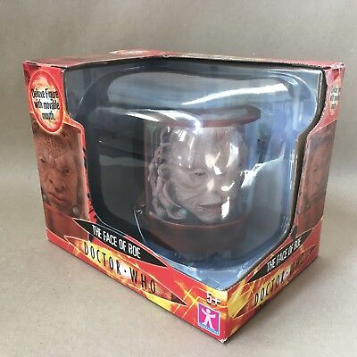 Dr Who Action (10th Doctor) Figure Set - The Face Of Boe 02381 Factory Sealed