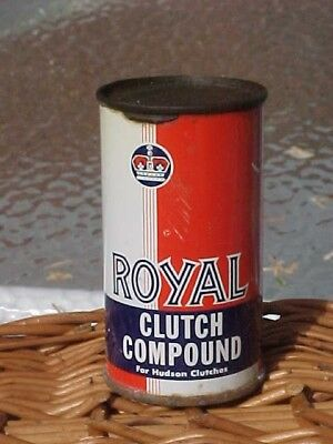 Vntg CAN ROYAL CLUTCH COMPOUND For HUDSON TERRAPLANE RICHMAN CHEM CO CHICAGO