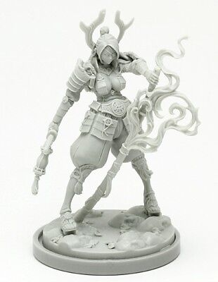 30mm Resin Kingdom Death Samurai Death Unpainted WH304