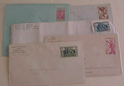 CAMEROON  5 COVERS 1931-1940's
