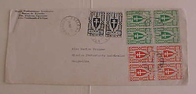 Cameroon  10 Stamps On 1945 Cover To Sangmelima