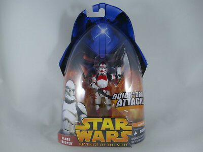 Ro2 Star Wars Revenge Of The Sith Clone Trooper Red Quick Draw Rots Moc
